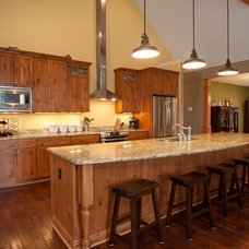 Traditional Kitchen by Artisan Building and Design, LLC