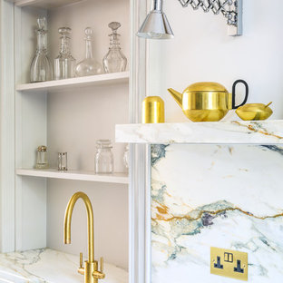 The Steel and Marble Townhouse Kitchen