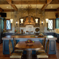 Traditional Kitchen by Cornerstone Design+Build Solution