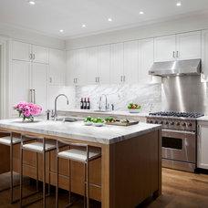 Contemporary Kitchen by William Reue Architecture