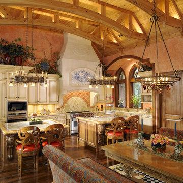 The Tourmaline Kitchen by Home Builder Tampa Florida Alvarez Homes 813- 701-3299