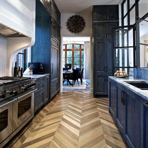 Herringbone Oak Engineered Flooring | Houzz