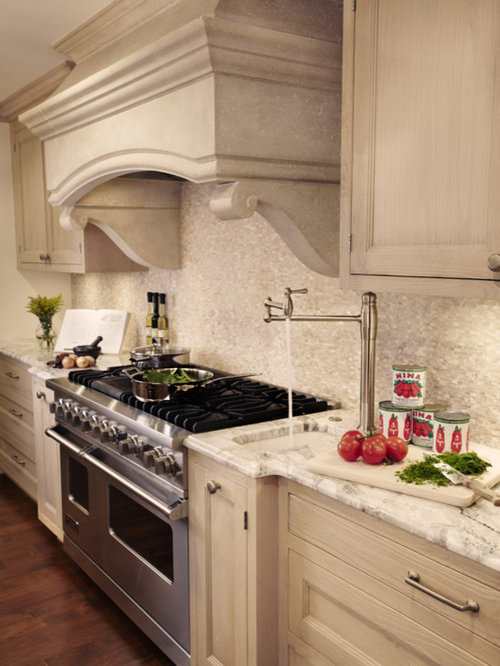 Sink next to stove houzz - Kitchen island with cooktop and prep sink ...