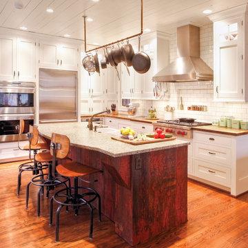 The ultimate farmhouse kitchen.. :)