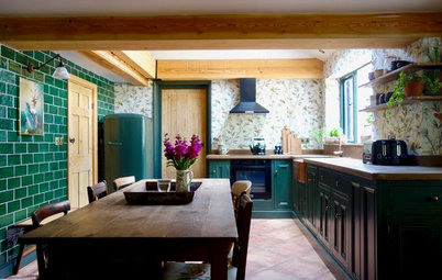 Kitchen Tour: A Country Kitchen is Stylishly Updated on a Budget