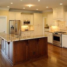 Traditional Kitchen by Fogleman Associates, Inc
