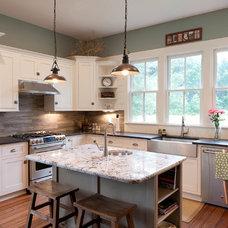 Farmhouse Kitchen by Arnett Construction LLC