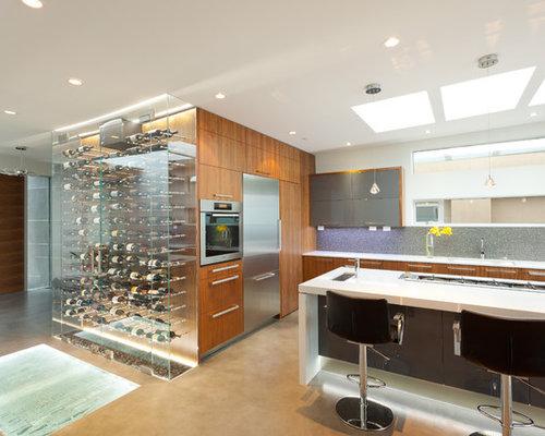 Wine Rack Above Refrigerator Houzz