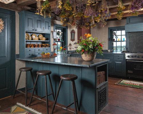 Best Blue Kitchen Cabinets Design IdeasRemodel PicturesHouzz