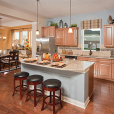 Traditional Kitchen by David Weekley Homes