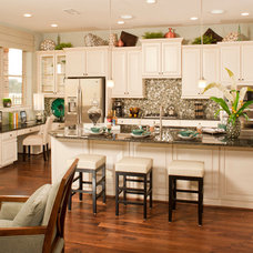 Tropical Kitchen by David Weekley Homes