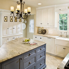 Traditional Kitchen by The Woodshop of Avon