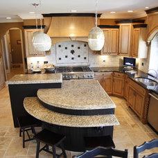 Traditional Kitchen by DJK Custom Homes