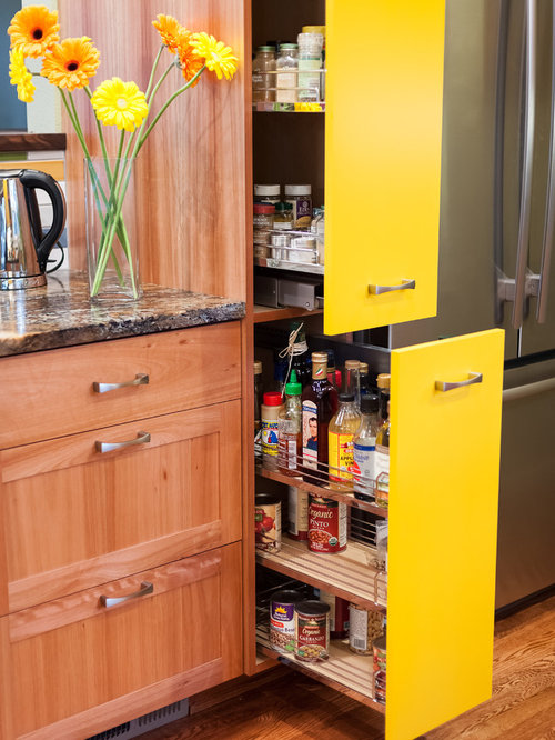 Best Kitchen With Yellow Cabinets Design Ideas Remodel