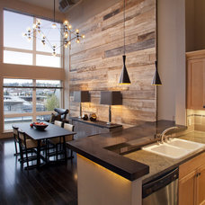 Contemporary Kitchen by Madera Furniture Company