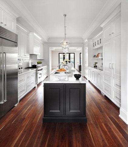 Transitional Kitchen by Lisa Petrole Photography