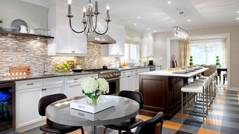 Thermador Appliances in transitional kitchen design