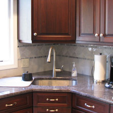 Traditional Kitchen by Advanced Remodeling LLC