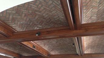 Thin Brick Barreled Ceiling