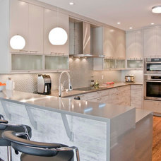 Contemporary Kitchen by Georgina Godin