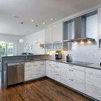 Grey And White Kitchen Contemporary Kitchen Toronto