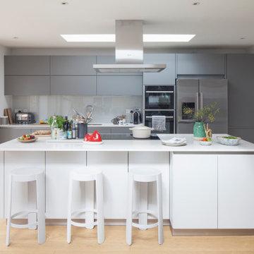 Thirties Semi in Hove_Open Plan Kitchen
