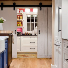 Farmhouse Kitchen by K.Marshall Design Inc.