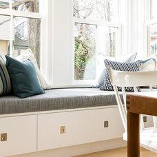 Eclectic Kitchen by Terrat Elms Interior Design