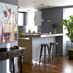 contemporary kitchen by Thom Lindsley