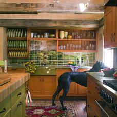 Eclectic Kitchen by Thomas Buckborough & Associates