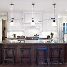 Traditional Kitchen by K West Images, Interior and Garden Photography
