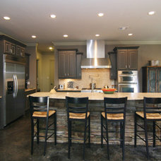 Contemporary Kitchen by Modern Craft Construction, LLC