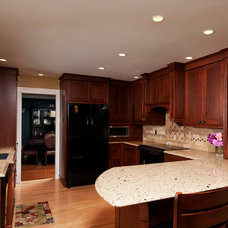 Traditional Kitchen by Morgan Turner Photography