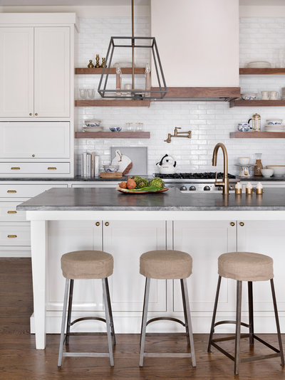 Transitional Kitchen by Anna Braund