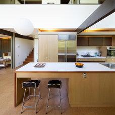 Midcentury Kitchen by Lander Design