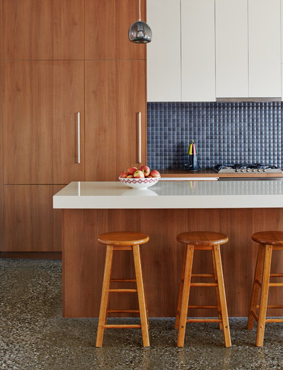 Contemporary Kitchen by Mesh Design Projects