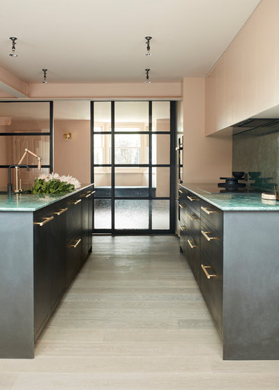 Contemporary Kitchen by Minale + Mann