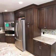 Traditional Kitchen by James Falcone Construction