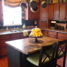 Traditional Kitchen by Thrifty Decor Chick