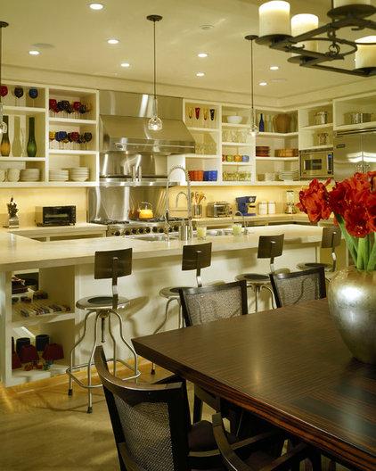 modern kitchen by Laura Kirar Design