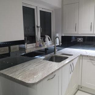 White Thunder Granite Kitchen Ideas