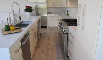 Tiburon, CA  Healthy White Kitchen