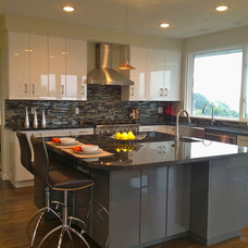 Contemporary Kitchen by MOONES Home LLC