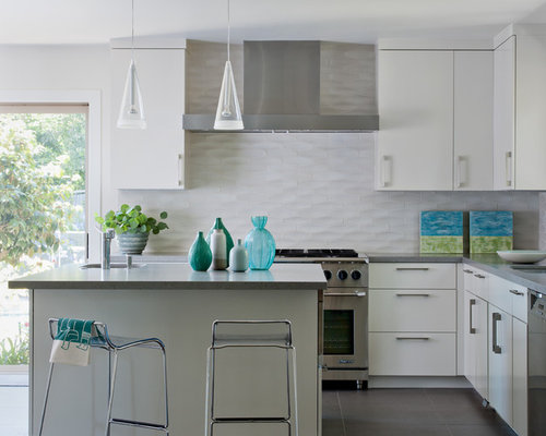SaveEmail - Best Tile Kitchen Backsplash Design Ideas & Remodel Pictures Houzz