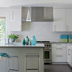 modern kitchen by Shirley Parks Design