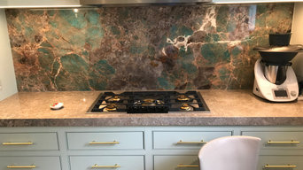 Tiffany Blue Amazonite - Kitchen worktop