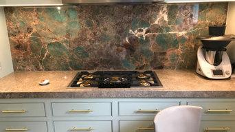 Tiffany Blue Amazonite - Kitchen worktop
