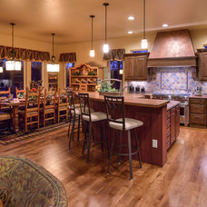 Rustic Kitchen by Housing & Building Association of Colo. Springs