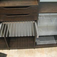 Contemporary Closet by Custom Storage Solutions