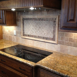 Tile Kitchen Backsplash - Natural Stone -